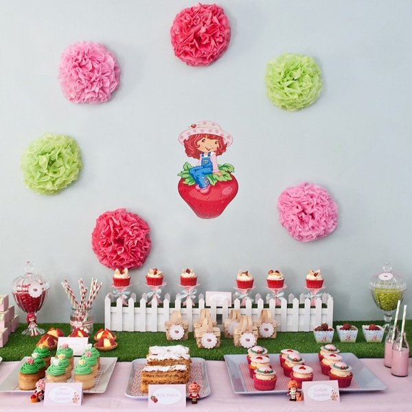 Strawberry Shortcake Party Ideas | Pretty My Party