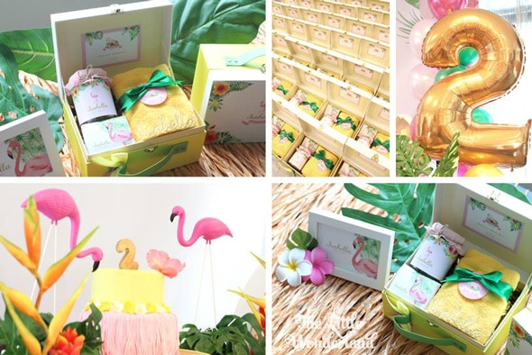 Hawaiian Flamingo Birthday Party Ideas