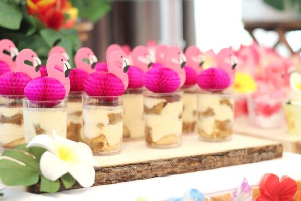 Flamingo Party Desserts