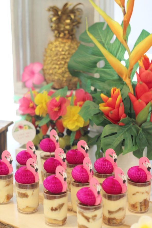 Tropical Hawaiian FlamingoDesserts