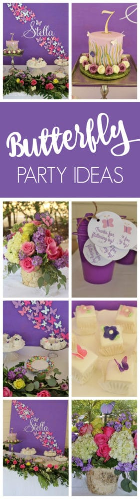 Beautiful Butterfly Birthday Celebration | Pretty My Party