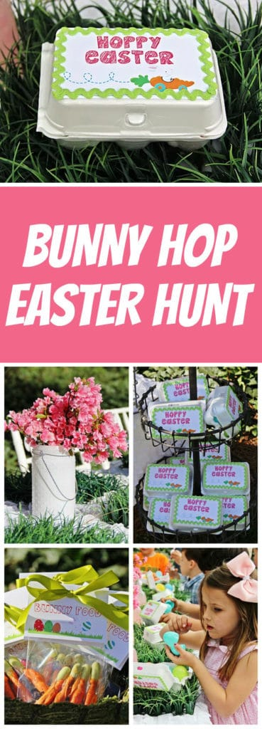 Bunny Hop Easter Party | Pretty My Party