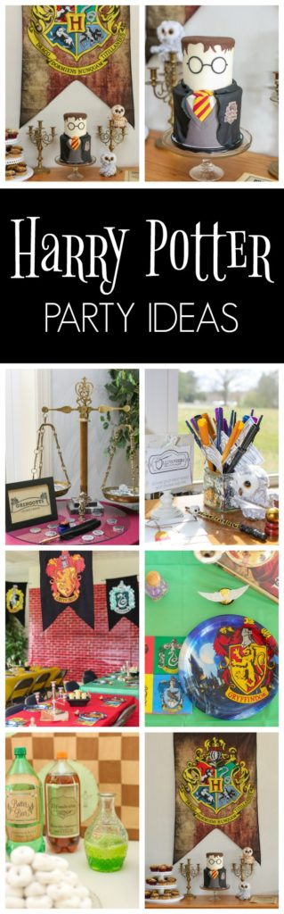 Harry Potter Themed Party - Pretty My Party