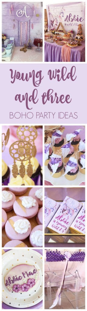 Boho Wild and Three Birthday Party on Pretty My Party