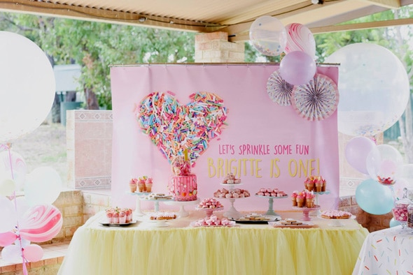 Sweet Sprinkles Birthday Party