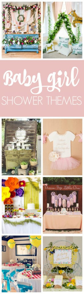 15 Baby Girl Shower Themes | Pretty My Party