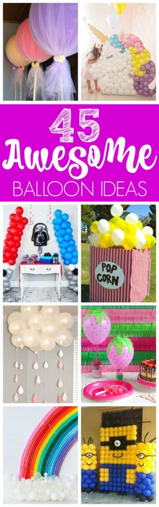 45 Awesome DIY Balloon Ideas For Parties