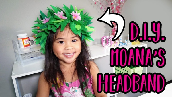DIY Moana Headband - Moana Party Ideas