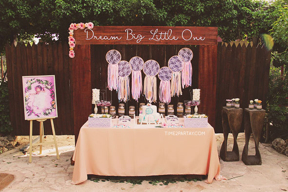 Dreamcatcher Themed Baby Shower | Pretty My Party