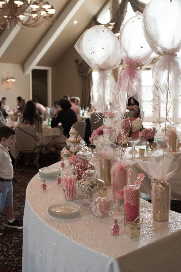 Elegant Pink First Communion Celebration | Pretty My Party