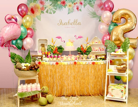 Tropical Flamingo Party | Pretty My Party