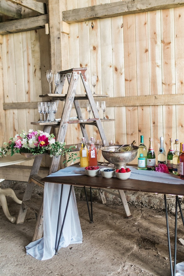 rustic chic bridal shower pretty my party