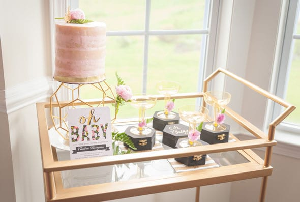 Modern Garden Baby Shower | Pretty My Party