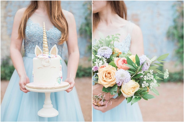 Pastel Unicorn Party Styled Photo Shoot