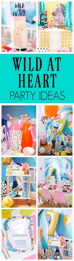 Wild at Heart Birthday Party on Pretty My Party