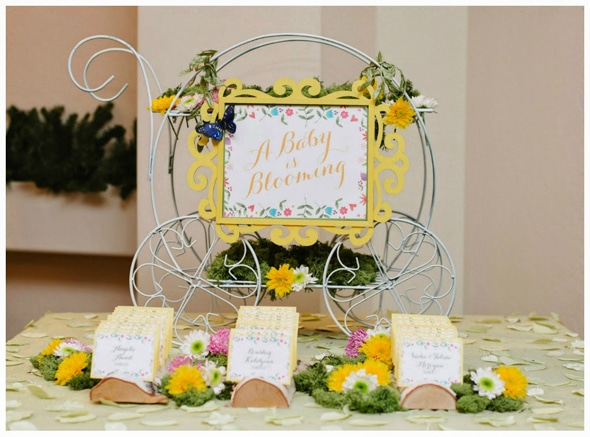 A Baby Is Blooming Flower Inspired Baby Shower | Pretty My Party