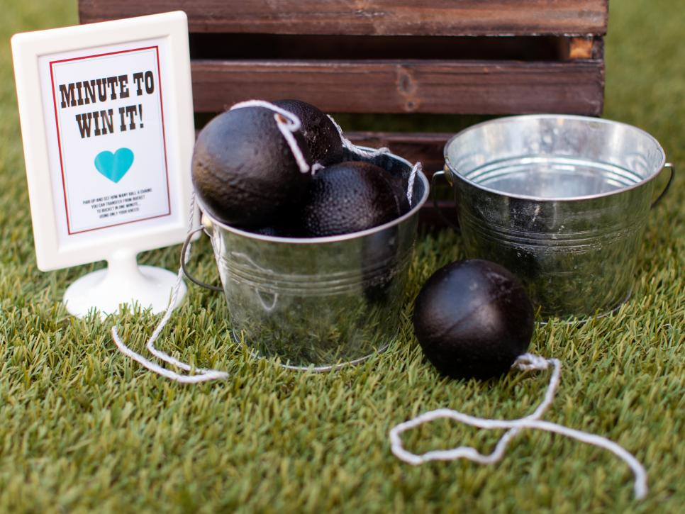 Ball and Chain Bridal Shower Game