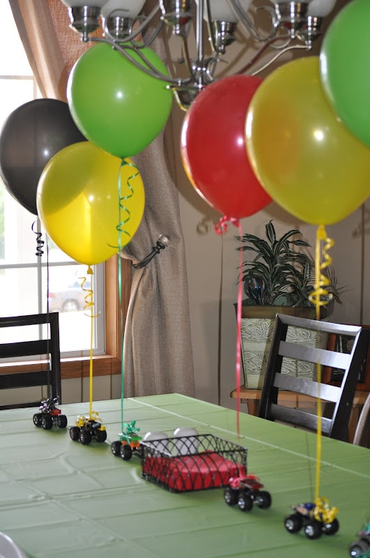 Blaze and the monster machines party ideas pretty my