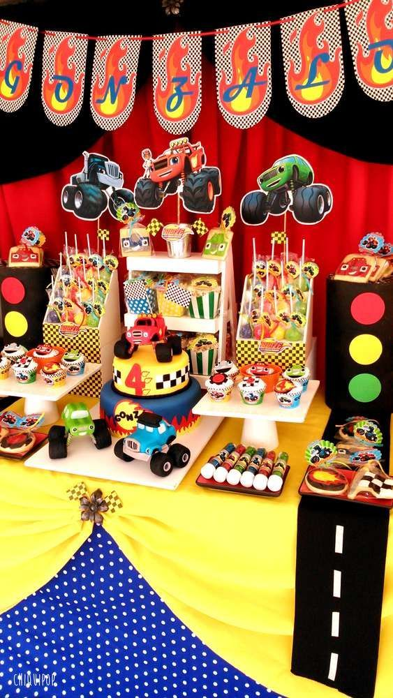 Blaze And The Monster Machines Party Ideas