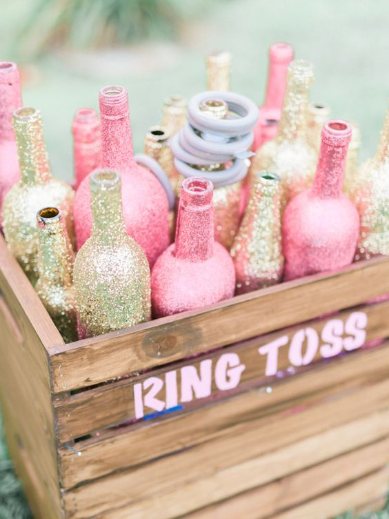 bling ring toss game bridal shower games