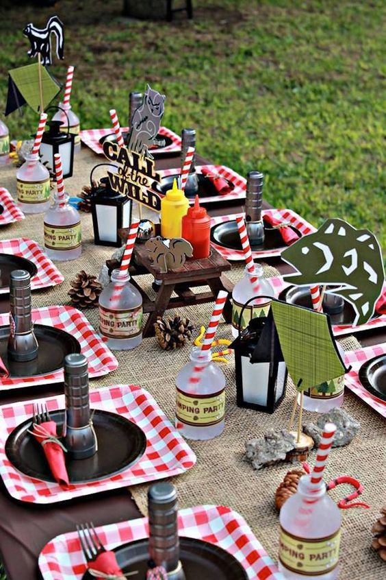 27 Camping Birthday Party Ideas Pretty My Party