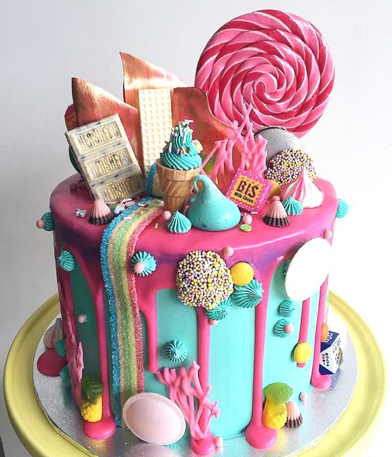 Candyland Cake   Freak Cake Party Trend   Pretty My Party