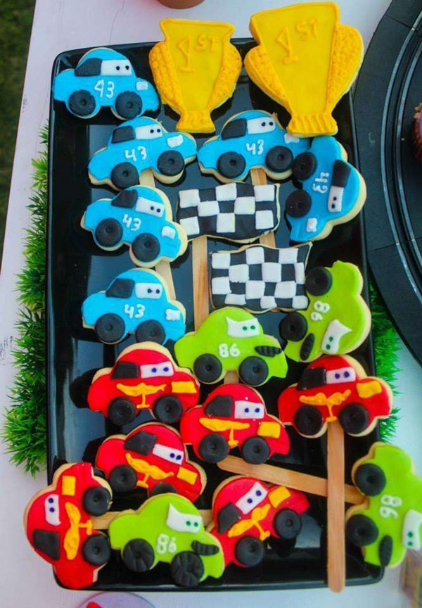Disney Cars Party Cookies | Pretty My Party