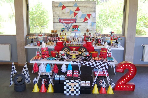 Disney Cars Party Dessert Table Idea | Pretty My Party & 20 Disney Pixars Cars Party Ideas - Pretty My Party