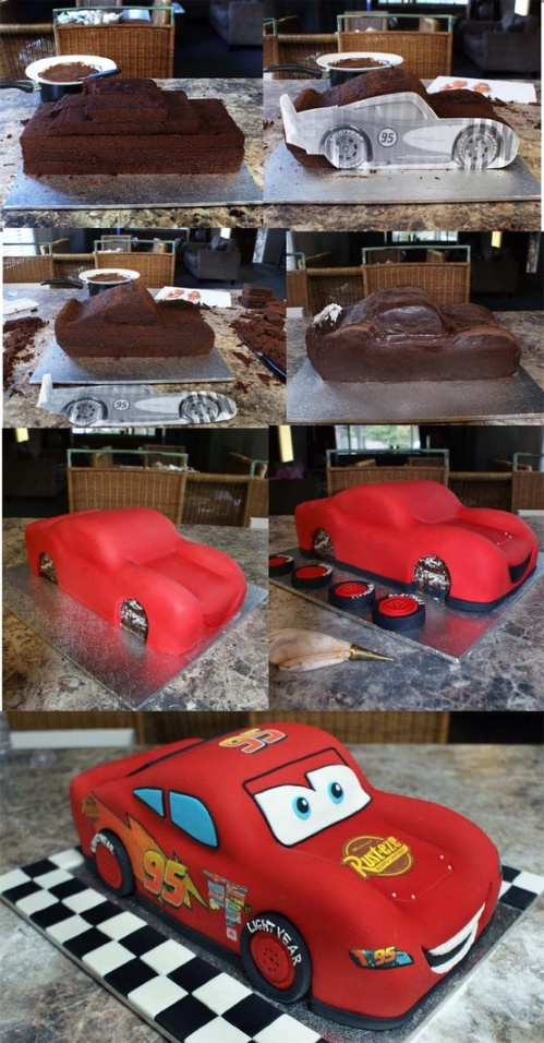 Disney Cars Birthday Cake | Pretty My Party