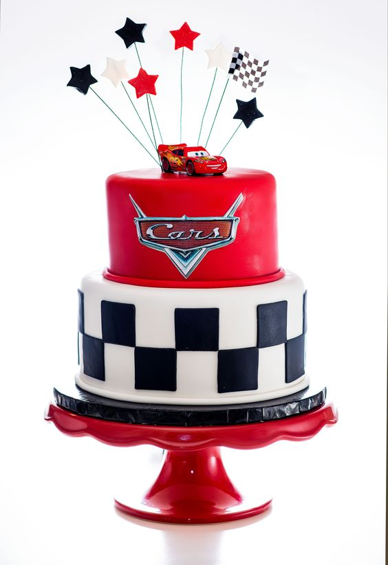 Disney Cars Cake | Cars Party Ideas | Pretty My Party