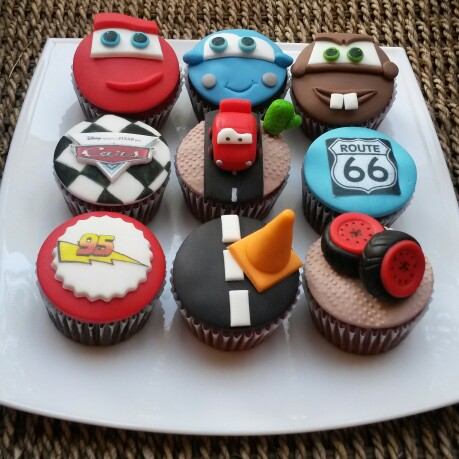 Disney Cars Cupcakes | Pretty My Party