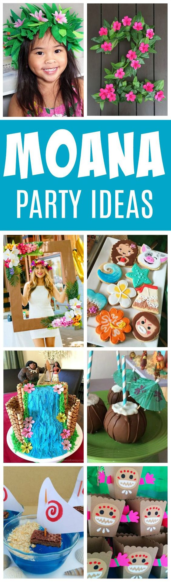 27 Disney Moana Birthday Party Ideas