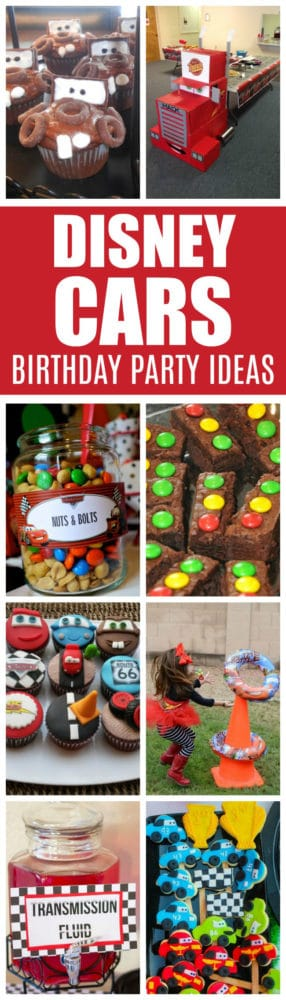 20 Disney Pixars Cars Party Ideas | Pretty My Party