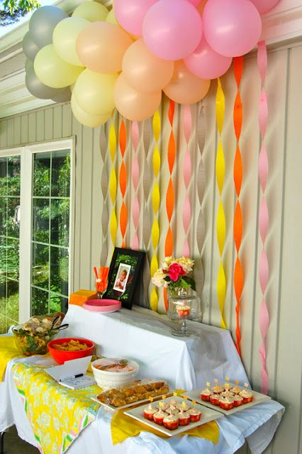 DIY Balloon Dessert Table Backdrop