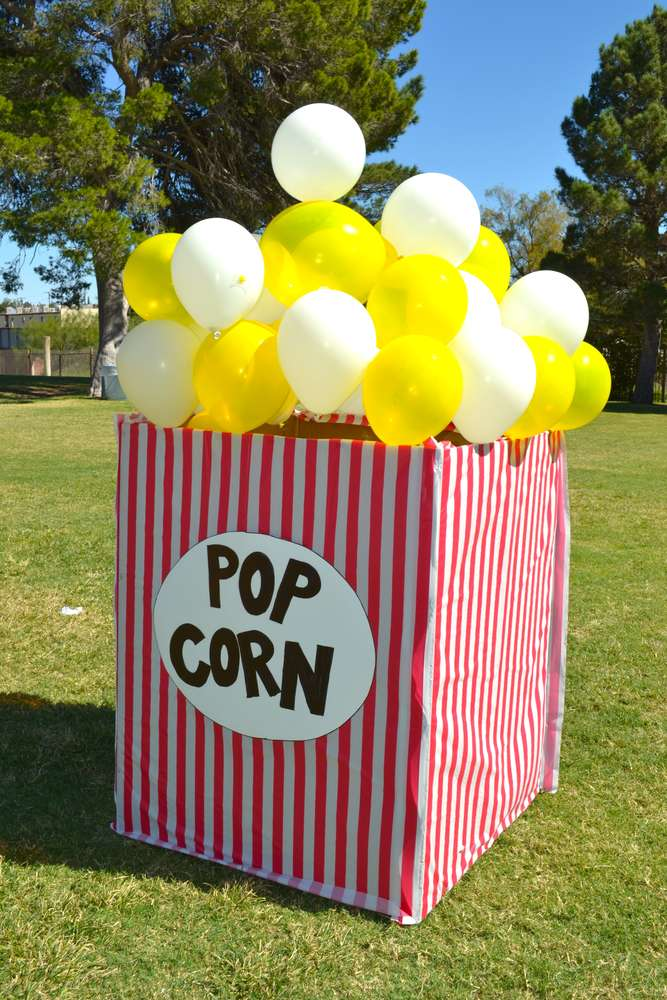 DIY Popcorn Box Balloon Idea | DIY Balloon Ideas | Pretty My Party