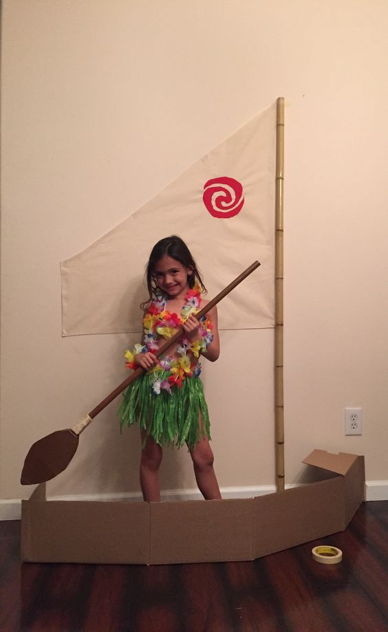 Easy DIY Moana Party Boat