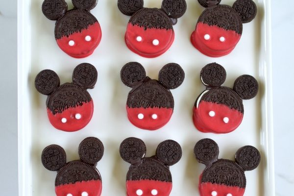 Easy Mickey Mouse Cookie Treats