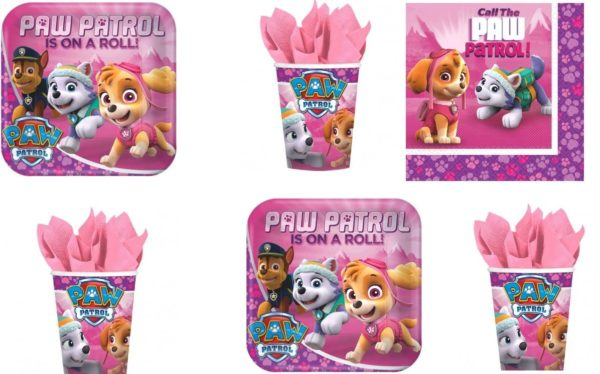 Girls Paw Patrol Party Pack | Pretty My Party
