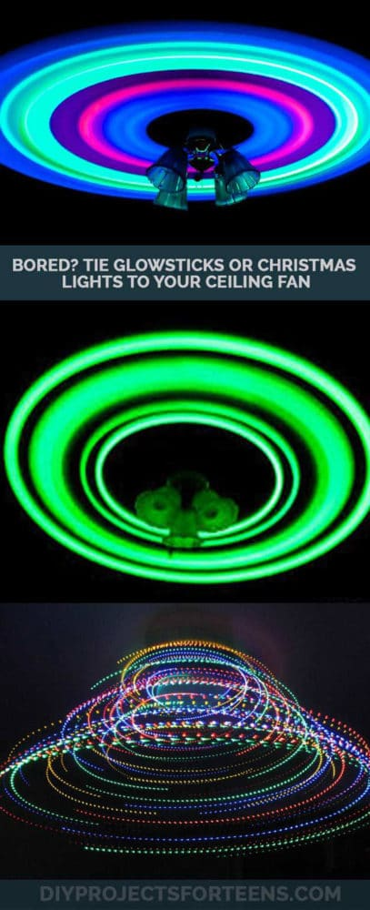 glow in the dark ceiling fan idea pretty my party