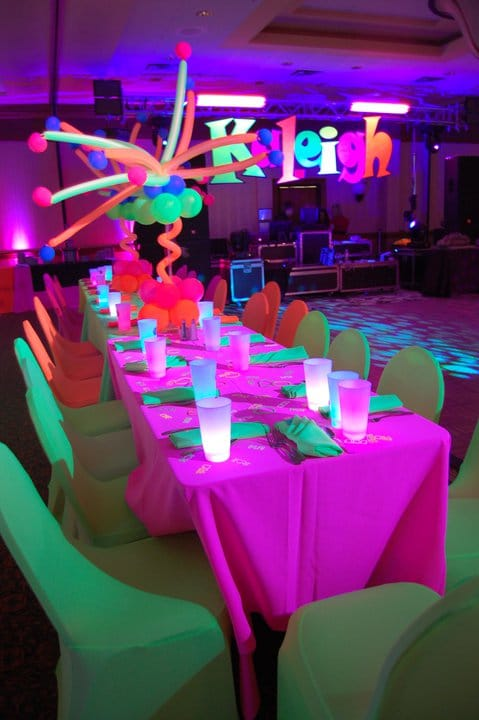 20 epic glow in the dark party ideas pretty my party glow in the dark party pretty my party solutioingenieria Images