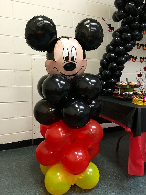 DIY Mickey Mouse Balloons | DIY Balloon Ideas | Pretty My Party