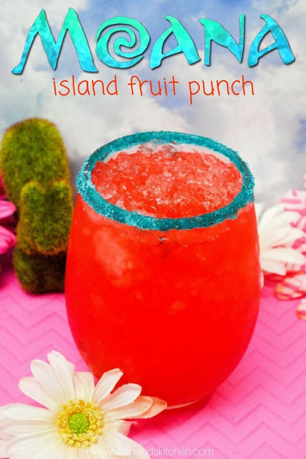 Moana Island Fruit Punch Recipe
