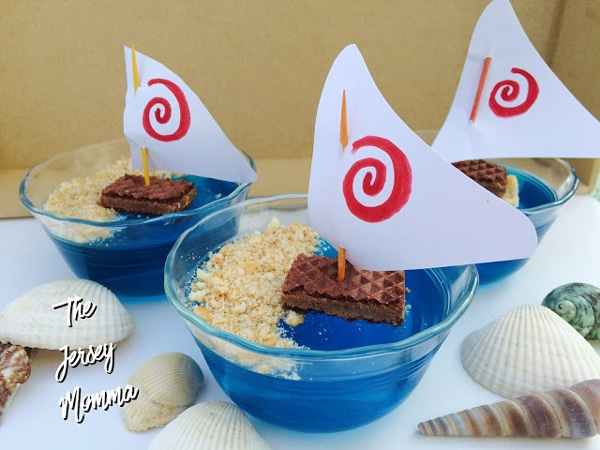 Moana Jello Boats