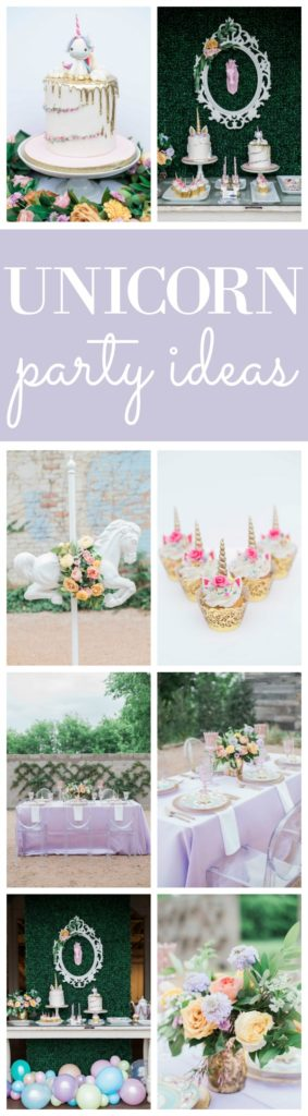 Pastel Unicorn Party Styled Photo Shoot on Pretty My Party