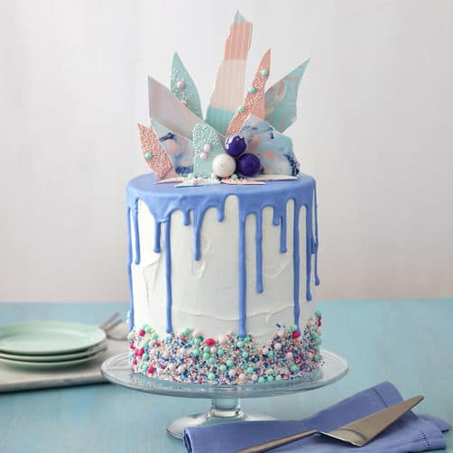 Piqued Interest Cake   Freak Cake Trend   Pretty My Party