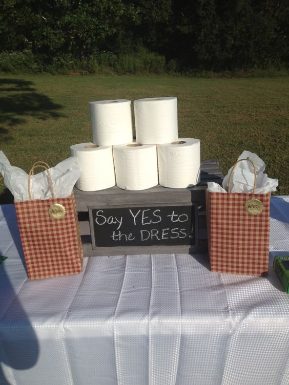 Say Yes to the Dress - Fun Bridal Shower Games