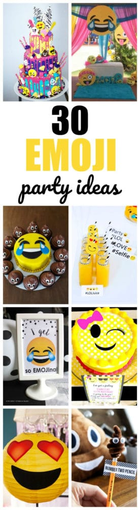 30 Totally Amazing Emoji Birthday Party Ideas