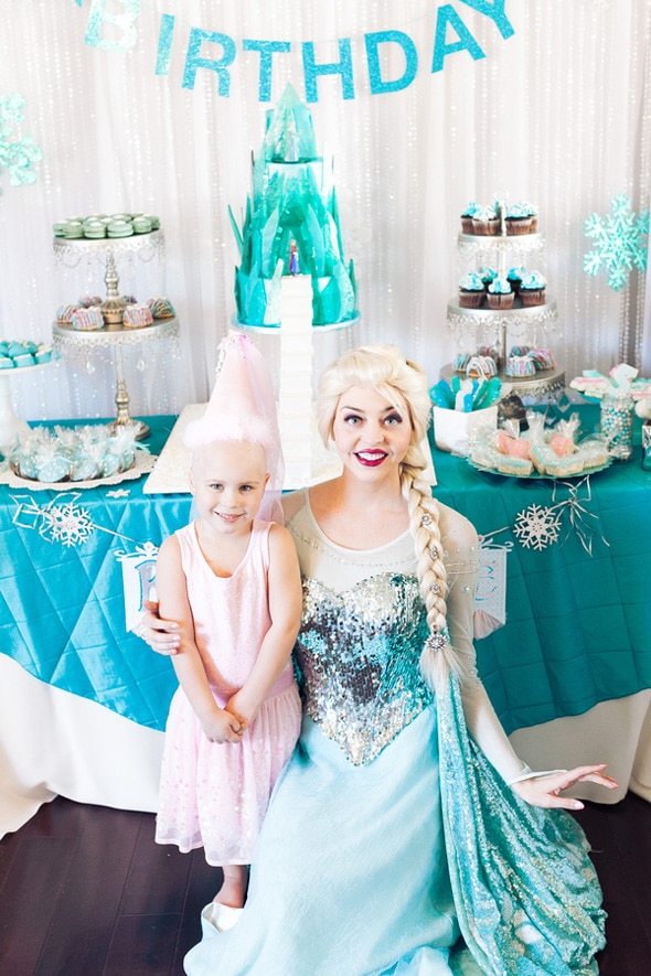 Frozen Themed Birthday Party | Pretty My Party