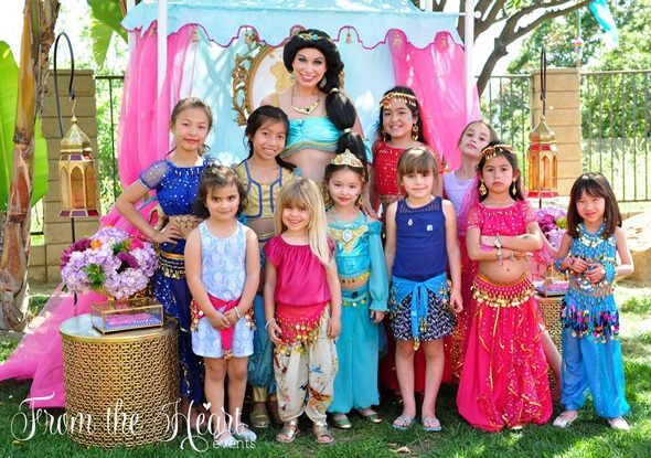 Princess Jasmine Arabian Nights Birthday Party