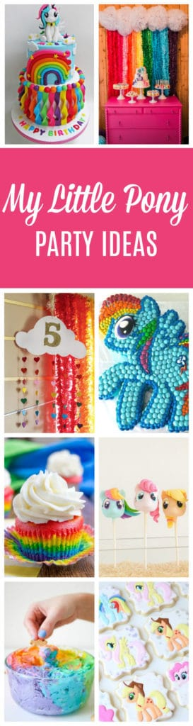 23 My Little Pony Birthday Party Ideas | Pretty My Party